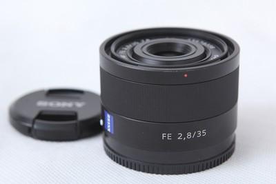 索尼 SONY Carl zeiss T*FE35/2.8za