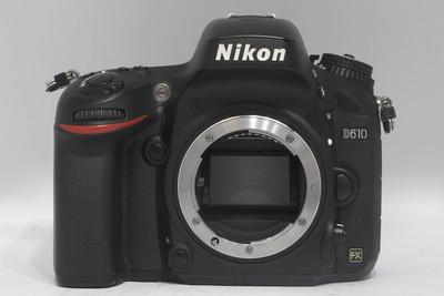 尼康D610全画幅单反数码相机(NO:0576)*