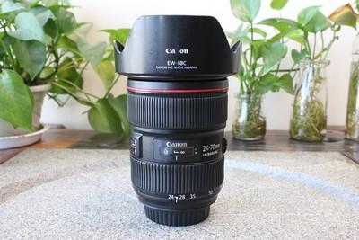 90新二手Canon佳能 24-70/2.8 L II USM二代镜头 回收002928武