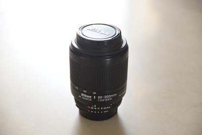 尼康AF 80-200mm f/4.5-5.6D ED VR镜头