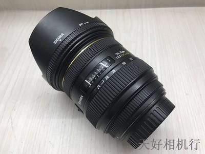 《天津天好》相机行 98新 适马 24-70/2.8 HSM 镜头