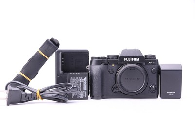 95新二手 Fujifilm富士 X-T1 带EF-X8闪光灯 W00158 023146津