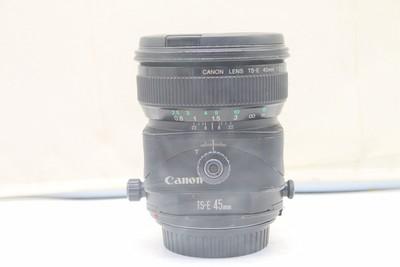90新二手Canon佳能 45/2.8 TS-E 移轴镜头置换 21186深