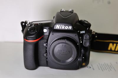 尼康 D810   99新   自用