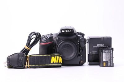 90新二手Nikon尼康 D800E 单机 快门47181次回收 018108津
