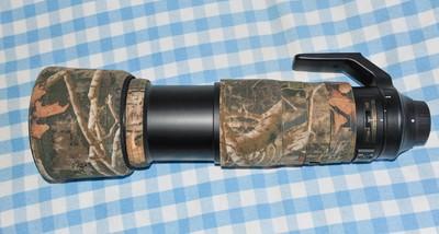 尼康AF-S 200-500mm f/5.6E ED VR 及炮衣、DUUK95mm偏振镜和UV镜
