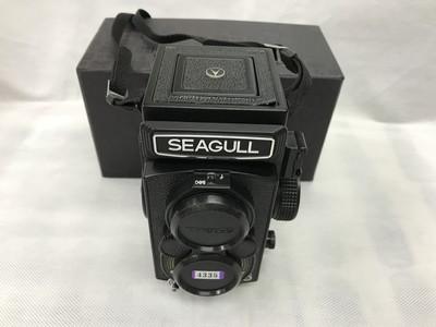 【收藏级】海鸥4A-109双反照相机