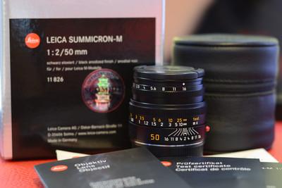 LEICA/徕卡 M 50 2 E39 黑色 现行版M镜头 Summicron-M50mm/f2.0