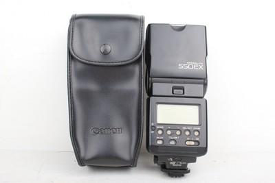 93新二手Canon佳能 550EX 机顶闪光灯回收 050716京