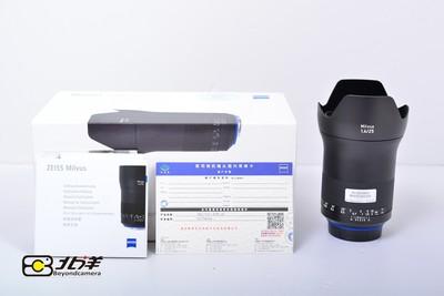 99新 卡尔·蔡司 Milvus 25mm f/1.4 ZE 行货带包装(BH09290009)