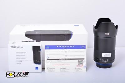 99新 卡尔·蔡司 Milvus 35mm f/1.4 ZE 行货带包装(BH09290008)