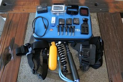 93新二手GOPRO 6 狗6 水下相机双电送卡回收 489553武