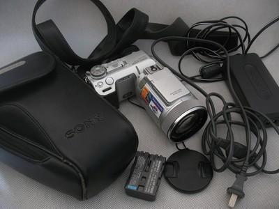 收藏成色 索尼F717 蔡斯镜头 红外夜视 2/3CCD F2.0大光圈 380元
