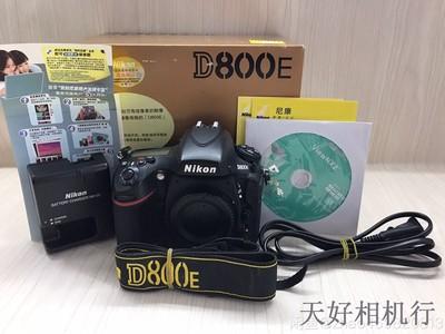 《天津天好》相机行 97新 行货带包装D800E 机身