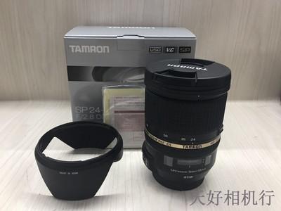 《天津天好》相机行 100新 腾龙24-70/2.8 Di USD 佳能口