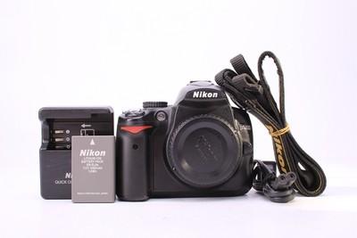95新二手 Nikon尼康 D5000 单机 快门11000多次回收 110129津