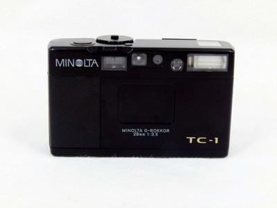 华瑞摄影器材-美能达Minolta TC-1黑色限量版