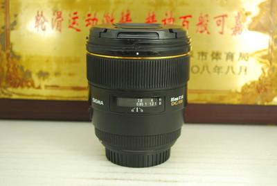 佳能口 适马 85mm F1.4 HSM 故障镜头 镜片 镜组 主板排线 马达