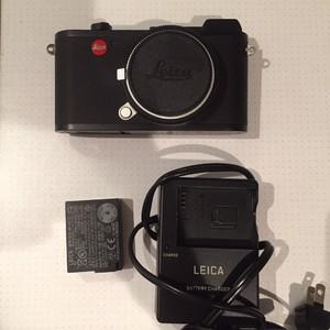 99新徕卡数码微单LeicaCL机身+电池+充电器+原装M口转接环
