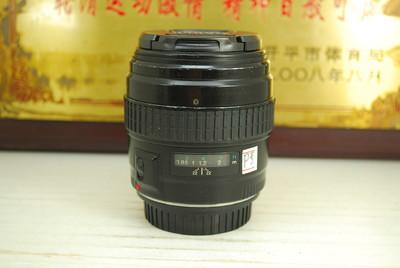 佳能 85mm F1.8 USM 单反镜头 全画幅 大光圈 专业定焦人像头