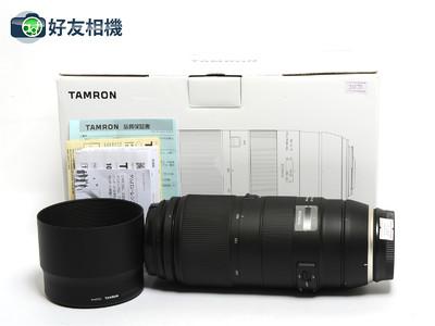 腾龙 100-400/4.5-6.3 防抖USD A035超长焦镜头佳能口 *99新连盒*