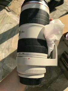 佳能70-200mm二代镜头,爱死小白,低价转让