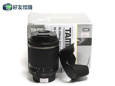 腾龙 18-200/3.5-6.3 DiII VC B018 防抖镜头 尼康口 *99新连盒*