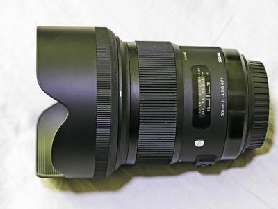 适马 ART 50mm F1.4 DG HSM 佳能口