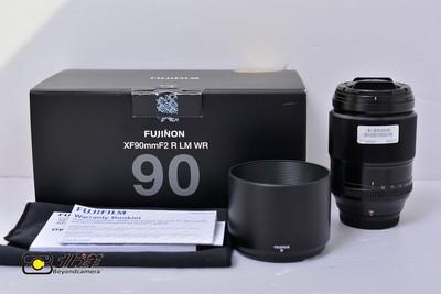 99新 富士 XF 90mm f/2.0 R LR WR (BH09160016)