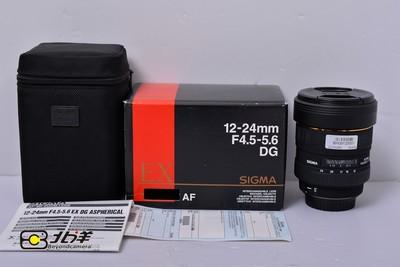 98新 适马 12-24mm f/4.5-5.6 EX DG(佳能口)(BH09120001)