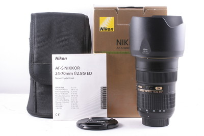 98/尼康 AF-S 24-70mm f/2.8G ED 成色极新(全套包装)