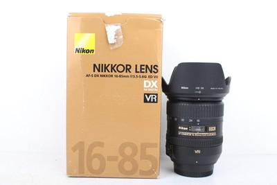 95新二手 Nikon尼康 16-85/3.5-5.6 G ED VR 回收 039710京