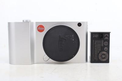 94新二手Leica徕卡 T 单机 银色 微单单电相机 高价回收812671京