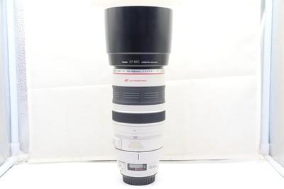 96新二手Canon佳能 100-400/4.5-5.6 L IS 大白一代 242138深
