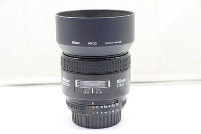 94新二手 Nikon尼康 85/1.8 D 定焦镜头 高价回收  481817深