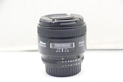 94新二手 Nikon尼康 85/1.8 D 定焦镜头回收  677170深