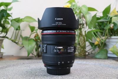 93新二手 Canon佳能 24-70/4 L IS USM变焦镜头 回收 002111武