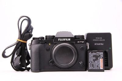 95新二手Fujifilm富士 X-T2 单机 XT2微单相机 回收 W60391津