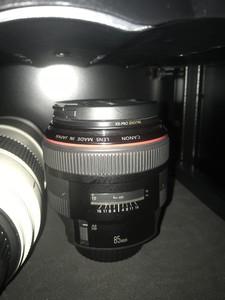 佳能 EF 85mm f/1.2 L II USM(京东自营!在保修期!)