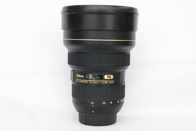 95新二手Nikon尼康 14-24/2.8 G ED 广角镜头 回收 480529州