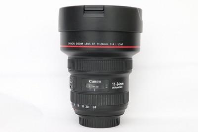 92新二手 Canon佳能 11-24/4 L USM 广角镜头 回收 009308州