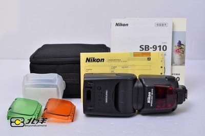 97新 尼康 SB-910 闪光灯(BH09050012)