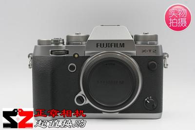 Fujifilm/富士 X-T2 碳晶灰微单机身 极新成色 国行带包装附件