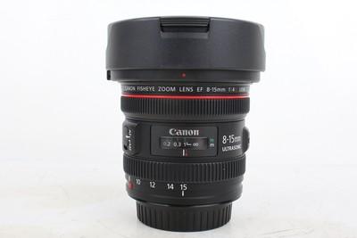 95新二手Canon佳能 8-15/4 L USM 鱼眼 镜头 回收 1000297京