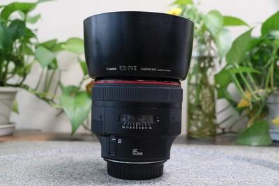 96新二手 Canon佳能 85/1.2 L II EF 二代 大眼睛 回收 281917武