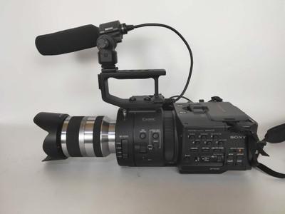 索尼 NEX-FS700 出售索尼FS700+18-200套机!成色新净