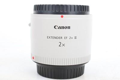97新二手 Canon佳能 2x III EF 三代2倍增距镜 高价回收 001844京