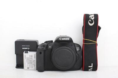 93新二手Canon佳能 650D 单机 数码相机高价回收 002100京