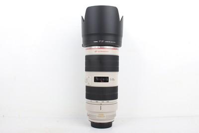 96新二手Canon佳能 70-200/2.8 L IS II USM小白兔 回收 007245京