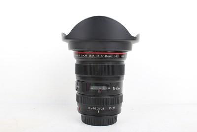 95新二手 Canon佳能 17-40/4 L USM 广角镜头 回收 761268京